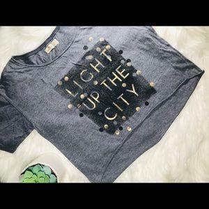 Hollister Cut Off T Shirt